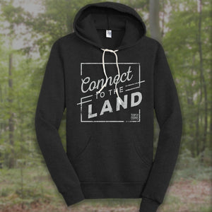 Connect to the Land hoodie