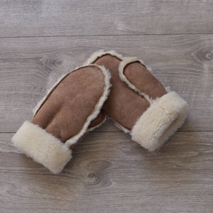 topsy Farms sheepskin mittens
