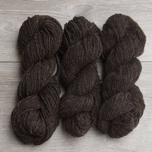 Topsy Farms natural brown yarn
