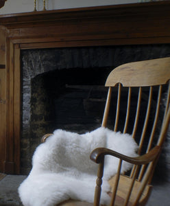 Sheepskin, Shaggy, Naturally White