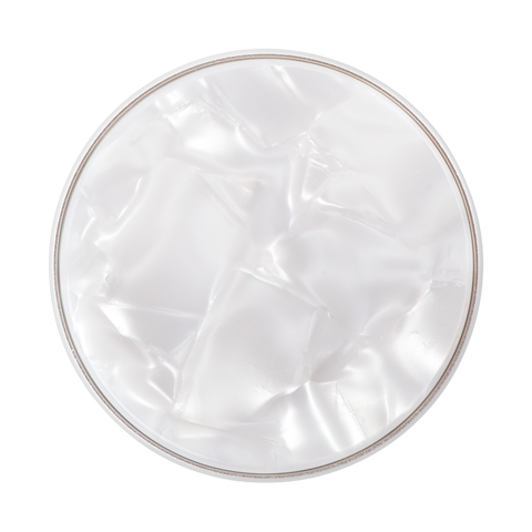 NYHET 🔄 PopSockets - Acetate Pearl White POPTOP