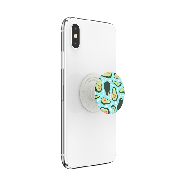 NYHET 🔄 PopSockets - Avocado Party Blue POPGRIP
