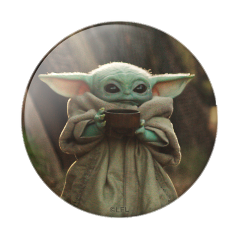NYHET 🔄 PopSockets - STAR WARS The Child Cup POPGRIP