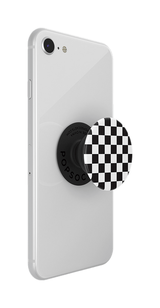 NYHET 🔄 PopSockets - Checker Black POPGRIP