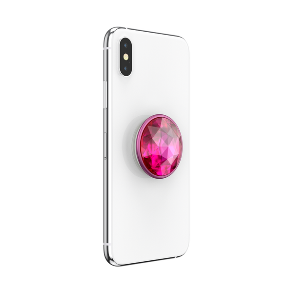 NYHET 🔄 PopSockets - Disco Crystal Plum Berry POPGRIP