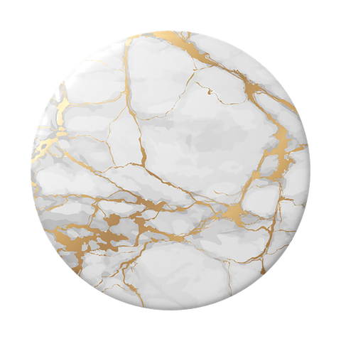 NYHET 🔄 PopSockets - Gold Lutz Marble POPGRIP