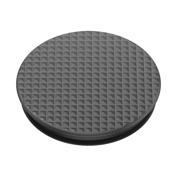 NYHET 🔄 PopSockets - Knurled Texture Black POPGRIP