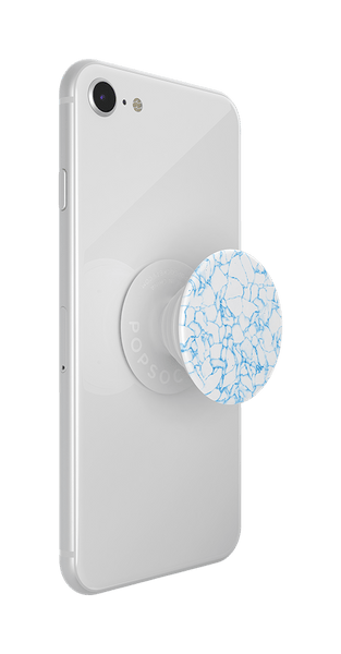 NYHET 🔄 PopSockets - Light Blue Quartz POPGRIP