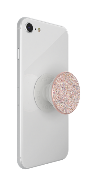 NYHET 🔄 PopSockets PopGrip - Sparkle Rose SWAPTOP