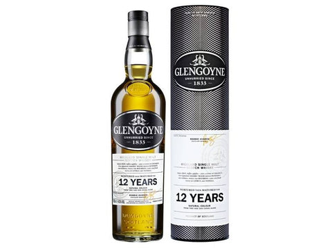 Glengoyne 12 yr old Highland Single Malt Whisky - 70cl bottle