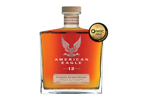 American Eagle 12yr old Bourbon Whiskey 43% - 70cl bottle