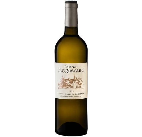 2015 Chateau Puygueraud Blanc, Cotes de Bordeaux - White Wine - www.baythornewines.co.uk