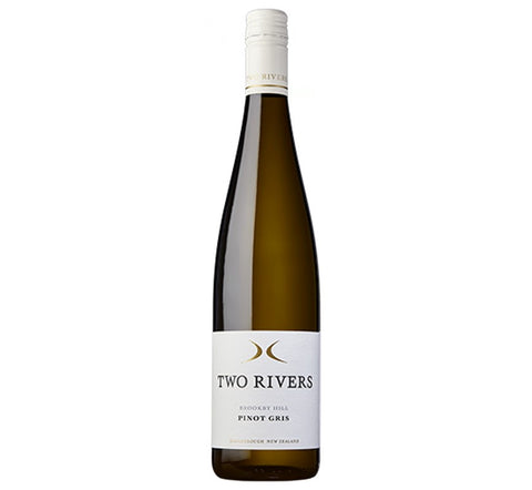 2017 'Brookby Hill' Pinot Gris, Two Rivers, Marlborough, New Zealand - White Wine - www.baythornewines.co.uk