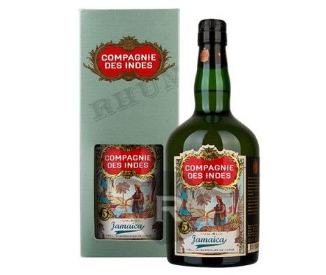 Jamaica 5yr old Gold Rum 43%, Compagnie des Indes, Jamaica - 70cl bottle