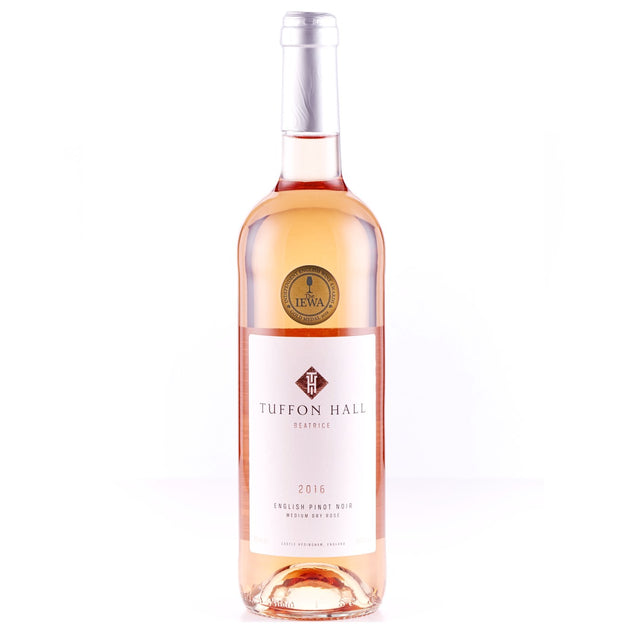 2016 Pinot Noir Rose 'Beatrice', Tuffon Hall, East Anglia, England - Rose Wine - www.baythornewines.co.uk