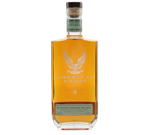 American Eagle 4yr old Bourbon Whiskey 40%, USA - 70cl bottle