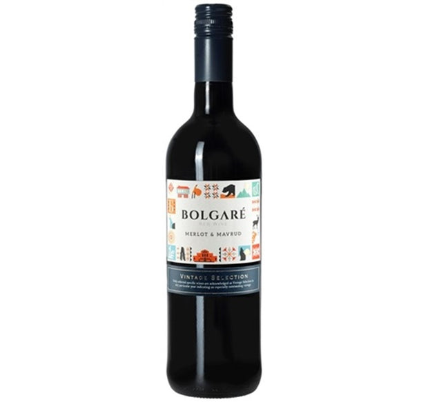 2016 Merlot/Mavrud, Bolgare, Thracian Plains, Bulgaria - Red Wine - www.baythornewines.co.uk