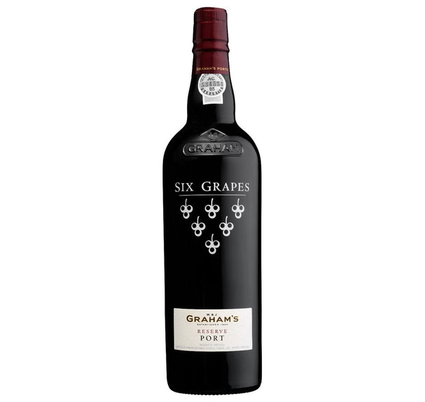 Six Grapes Reserve Port, Graham's, Douro Valley, Portugal - Fortified Wine - www.baythornewines.co.uk