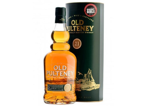 Old Pulteney 21 Yr Old, Highland Single Malt Whisky - 70cl bottle