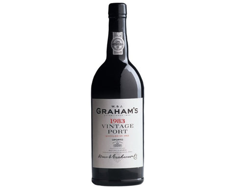 1983 Vintage Port, Graham's, Douro Valley, Portugal - Fortified Wine - www.baythornewines.co.uk