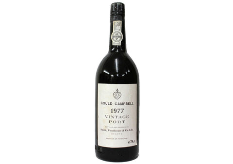 1977 Gould Campbell Vintage Port - Fortified Wine - www.baythornewines.co.uk
