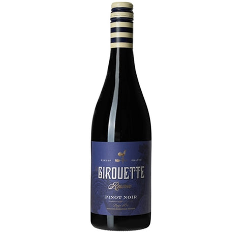 2017 Pinot Noir Reserve, La Girouette, Languedoc, France - Red Wine - www.baythornewines.co.uk