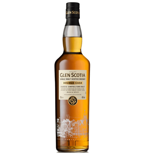 Glen Scotia Double Cask, Campbeltown Single Malt Whisky - 70cl bottle