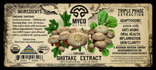 Load image into Gallery viewer, Mycomatrix SHIITAKE Adaptogenic Mushroom Extract
