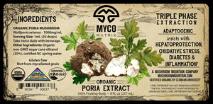 Mycomatrix PORIA Adaptogenic Mushroom Extract