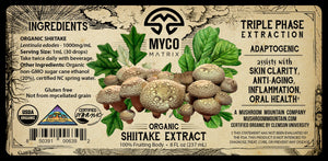 Mycomatrix SHIITAKE Adaptogenic Mushroom Extract