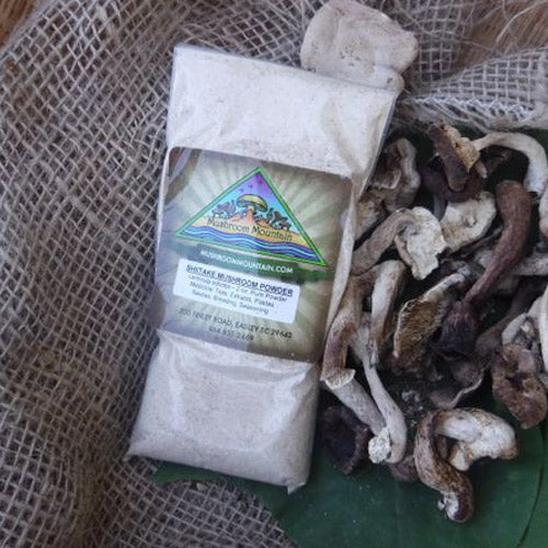 Shiitake Mushrooms, Dried, 1oz
