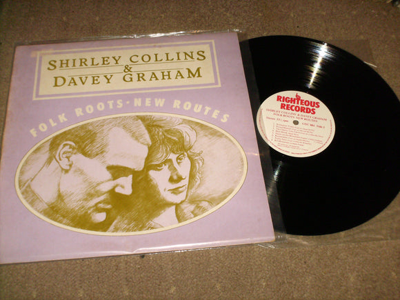 Shirley Collins & Davey Graham - Folk Roots New Routes