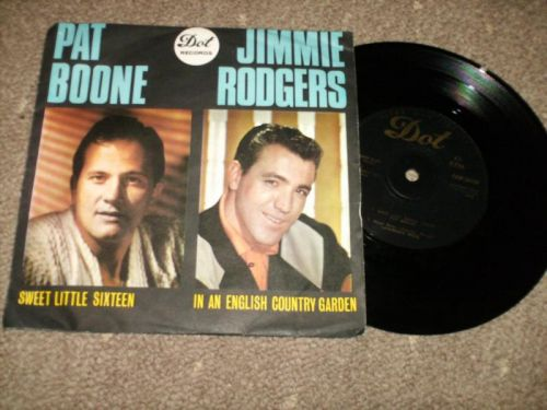 Pat Boone Jimmie Rodgers etc - Pat Boone Jimmie Rodgers, Lawrence Welk Billy Vaughn