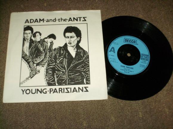 Adam And The Ants - Young Parisians