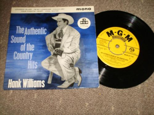 Hank Williams - The Authentic Sound Of The Country Hits