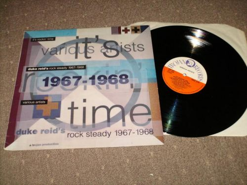 Various - It's Rocking Time Rock Steady 1967-!968