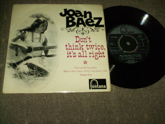Joan Baez - Dont' Think Twice It's All Right
