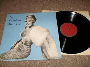 Peggy Lee - The Fabulous Miss Lee