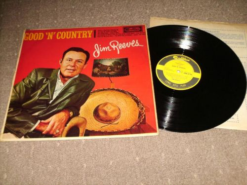 Jim Reeves - Good N Country