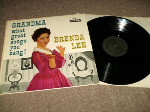 Brenda Lee - Grandma What Great Songs You Sang