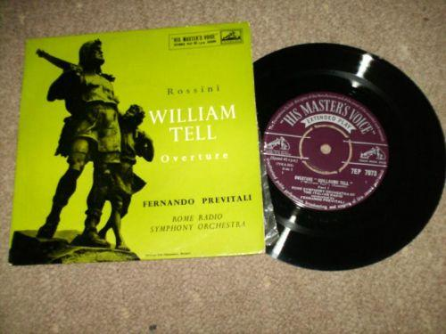 Fernando Previtali And The Rome Radio Symphony Orc - William Tell Overture