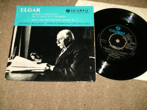 George Weldon - Philharmonic Orchestra - Elgar Enigma Variations Nos 8 [WN] & 9 [Nimrod]