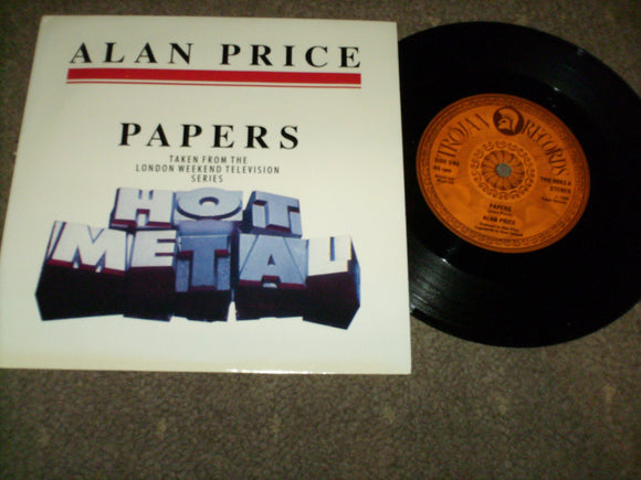 Alan Price - Papers