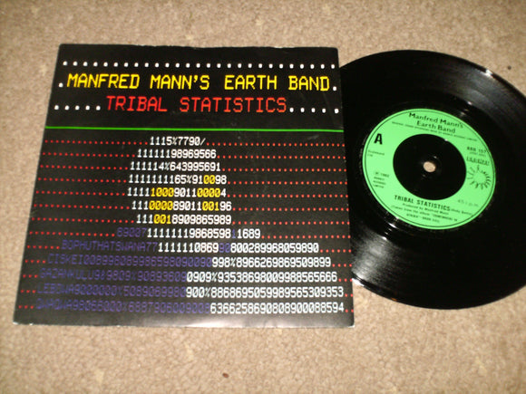 Manfred Mann's Earth Band - Tribal Statistics