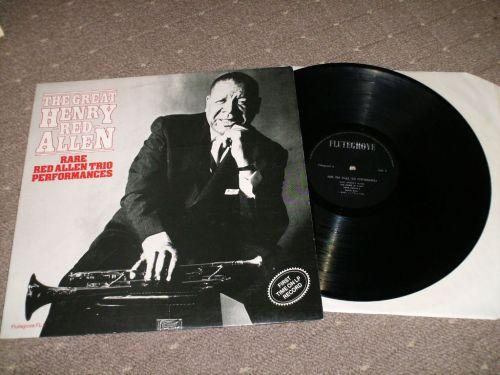 Henry Red Allen - Rare Red Allen Trio Performances