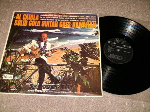 Al Caiola - Solid Guitar Goes Hawaiian