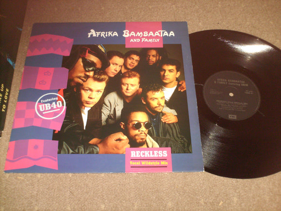 Afrika Bambaataa And Family Featuring UB 40 - Reckless [Vocal Wildstyle Mix]