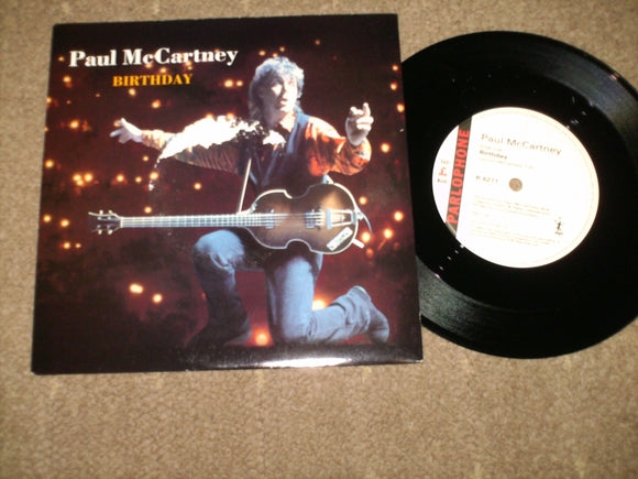 Paul McCartney - Birthday