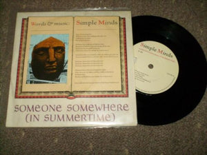 Simple Minds - Someone Somewhere [In Summertime]