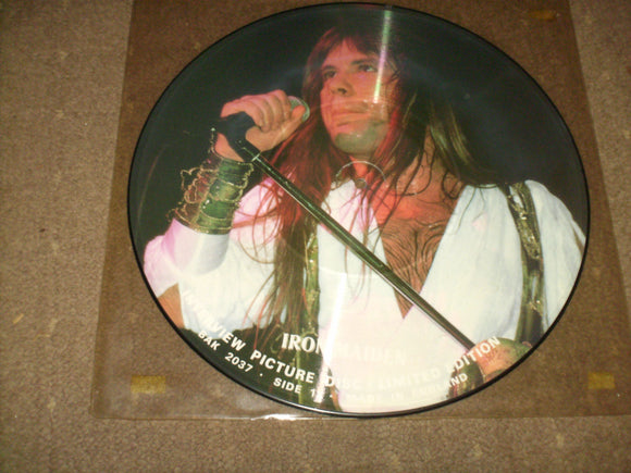 Iron Maiden - Interview Picture Disc